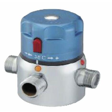 Mitigeur thermostatique collectif de bouclage SE M1 1/2 - DIFF