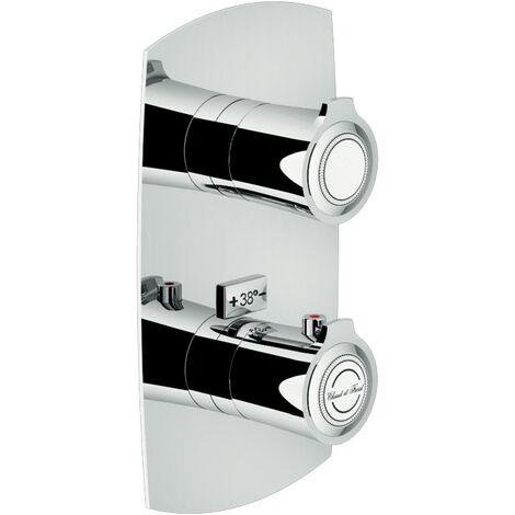 Mitigeur thermostatique douche encastré avec inverseur à 2 sorties Nobili Sofì SI98102