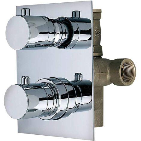 Mitigeur thermostatique ½ intégré avec inverseur Thermomat TMTI12D2ML
