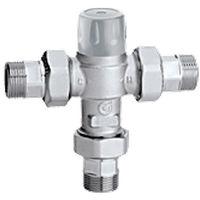 Mitigeur thermostatique réglable avec cartouche extractible pour installations centralisées Caleffi 5230