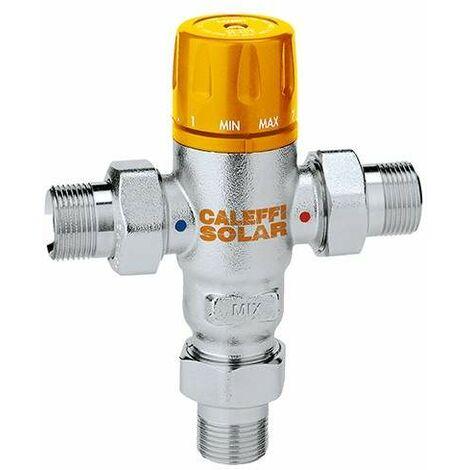 Mitigeur thermostatique réglable pour installations solaires Caleffi 2521