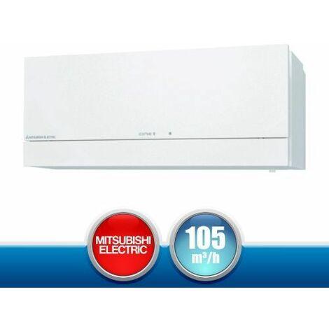 MITSUBISHI ELECTRIC Lossnay VL-100EU5-E Recuperatore di Calore a Parete Bianco