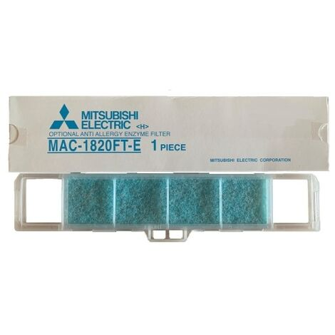 MITSUBISHI ELECTRIC MAC-1820FT-E Filtro Anti-Odore per Unità Interne MSC-WV
