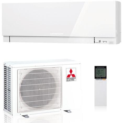 Mitsubishi Klimaanlage R32 Premium Design Wandgerät 2,5 kW SET Weiß
