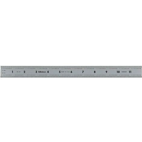 "Mitutoyo 182-125 12"" X 300mm Rigid Rule"