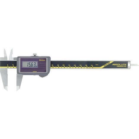 MITUTOYO Digital Messschieber Solar 500-457 ohne Datenausgang Messbereich0-150mm