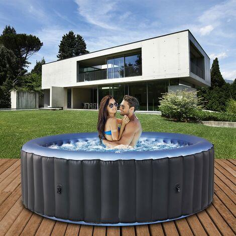 Miweba MSpa Whirlpool 2021 Comfort Bergen C-BE041, Garten & Outdoor-Whirlpool aufblasbar, 4 Personen
