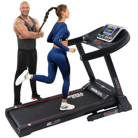 Miweba Sports elektrisches Profi Laufband HT5000 Klappbar mit Steigung Fitness