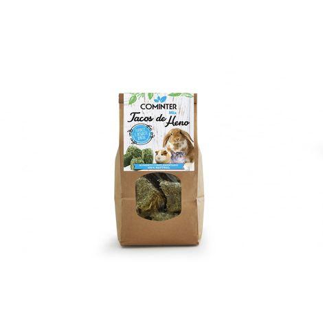MIX Tacos Heno Cominter - Snack Dental Excelente para Roedores - 500 gr