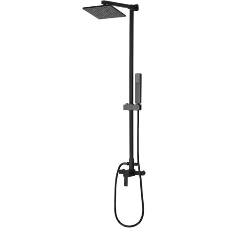 Mixer Shower Set Black TAGBO