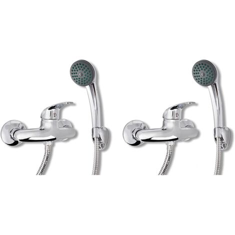 Mixer Showers 2 pcs - Silver