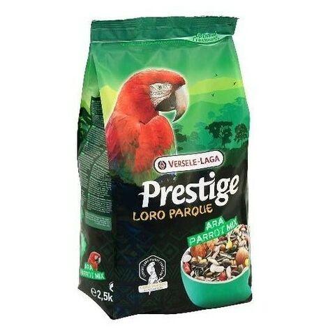 Mixtura para papagayos con VAM PRESTIGE LOROPARQUE ARA VERSELE LAGA 2.5 kg