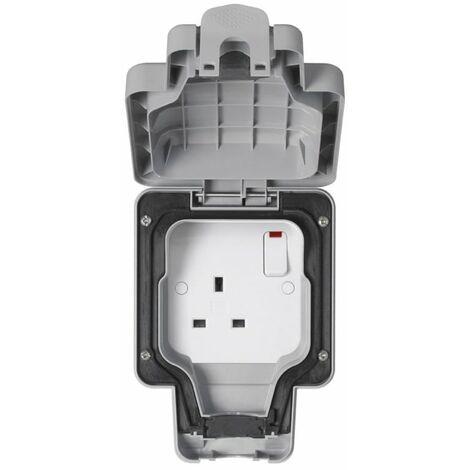 MK Electric Outdoor Socket, Single