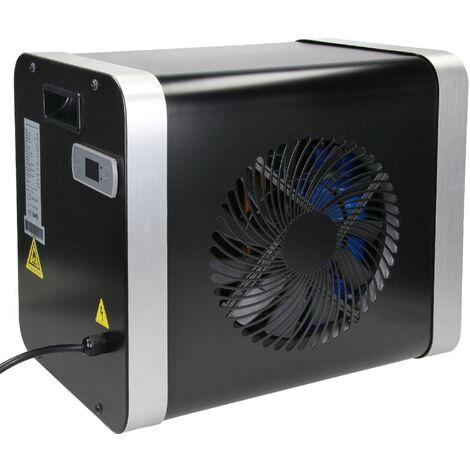ML-Design Pompe à chaleur piscine Mini air chauffage échangeur chaleur noir 4 kW