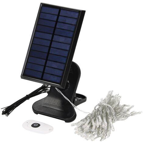 ML-Design Tira LED modular luces solar 7 metros para toldos con control remoto