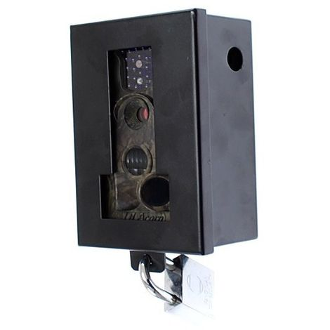 MMS CCTV Invisible Flash Portable Outdoor Recording Camera & Protective Cage (C60-NV12MMS) [002-0800]