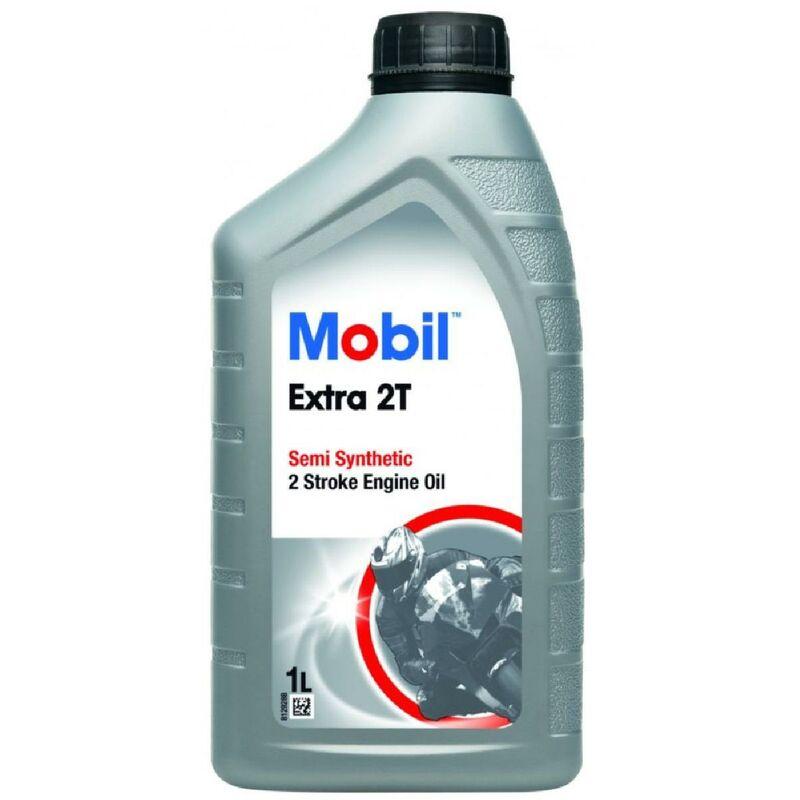 12x Huile Extra 2T 1L -bidon- - Mobil