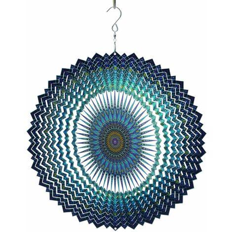 Mobile à vent design Mandala Sun