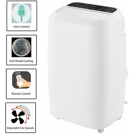 "main image of ""Mobile Air Conditioner 14000 BTU Remote Control Adjustable Digital Timer Remote"""