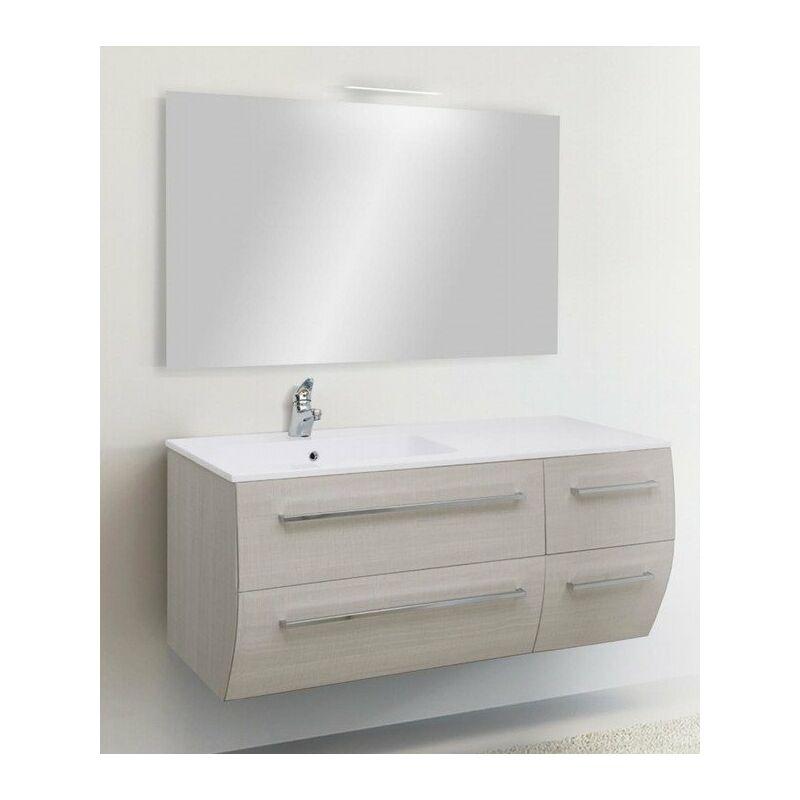 Mobile bagno con apertura con maniglie linea fly 121 cm - global trade - cod. fly121.m/00
