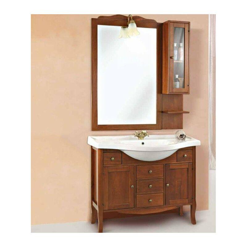 Mobile bagno con pensile linea amalfi plus 105x50 cm - global trade - cod. 74/p