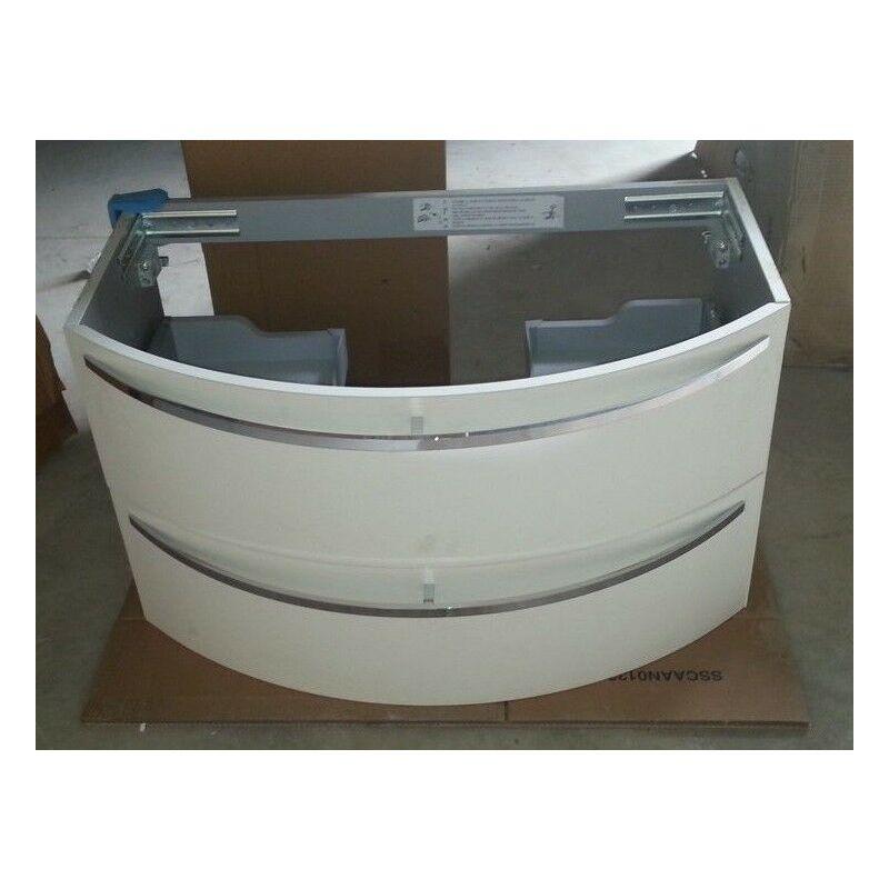 Lavabo Esterno Moderno : Mobile bagno sospeso arredo moderno cm design curvo opaco