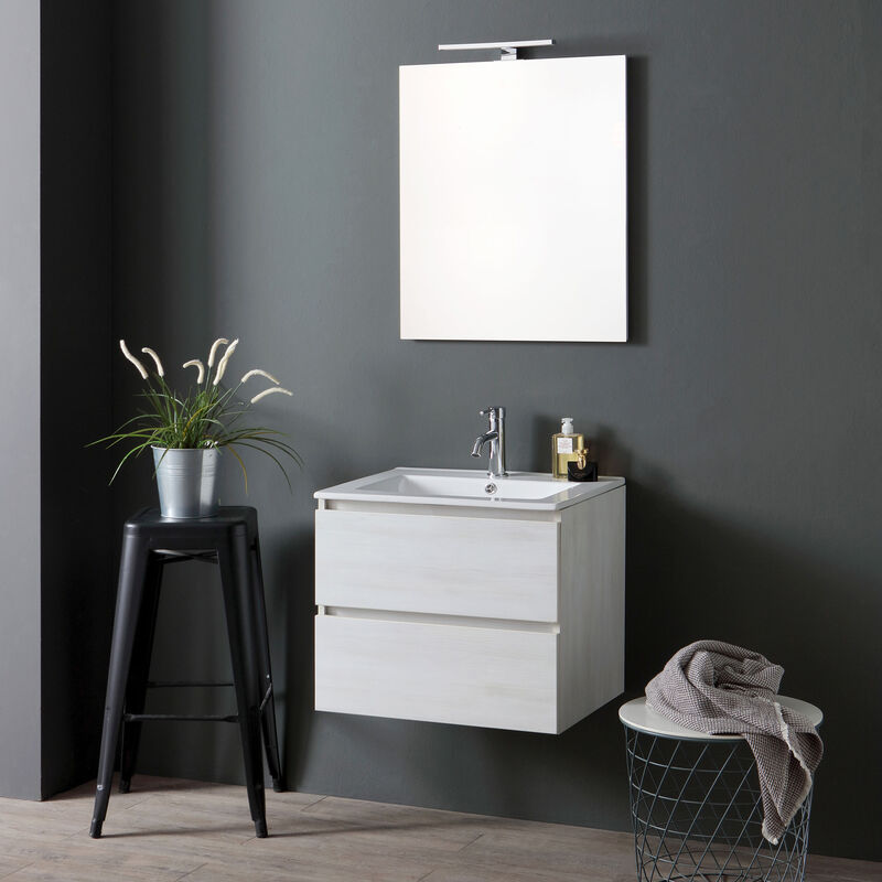Badmöbel 60 Cm Mit Unterschrank Und Waschtisch