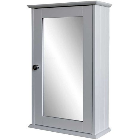 Mobile Specchio Da Bagno.Mobile Da Bagno Pensile Porta Medicinali Oggetti Con Specchio