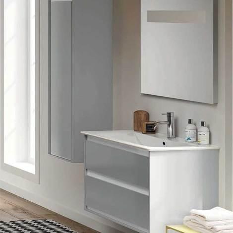 Mobile da bagno sospeso da 80 cm due cassetti Ideal Standard Connect ...