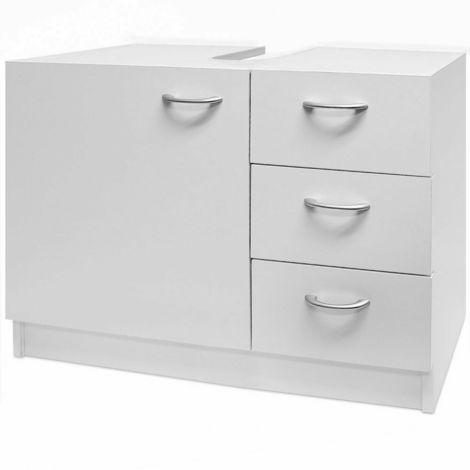 Mobile da bagno sotto lavabo con cassetti lavello armadietto altezza 54cm