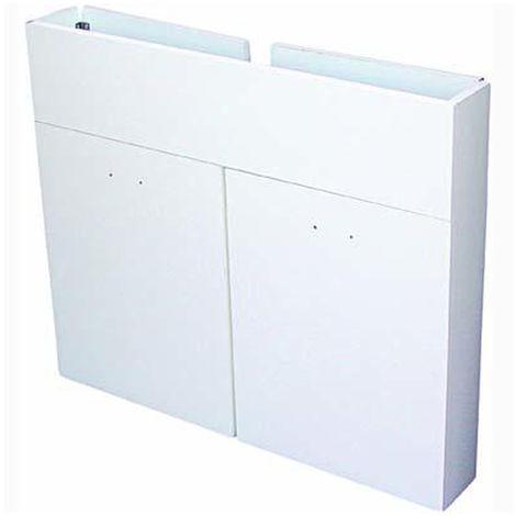 Mobile sottolavello 3 ante bianco pieghevole 120x50cm arredo lavello cucina  1187