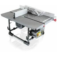 Mobile Tischkreissäge 800 Watt Kreissäge inkl. Absaugung und Zubehör
