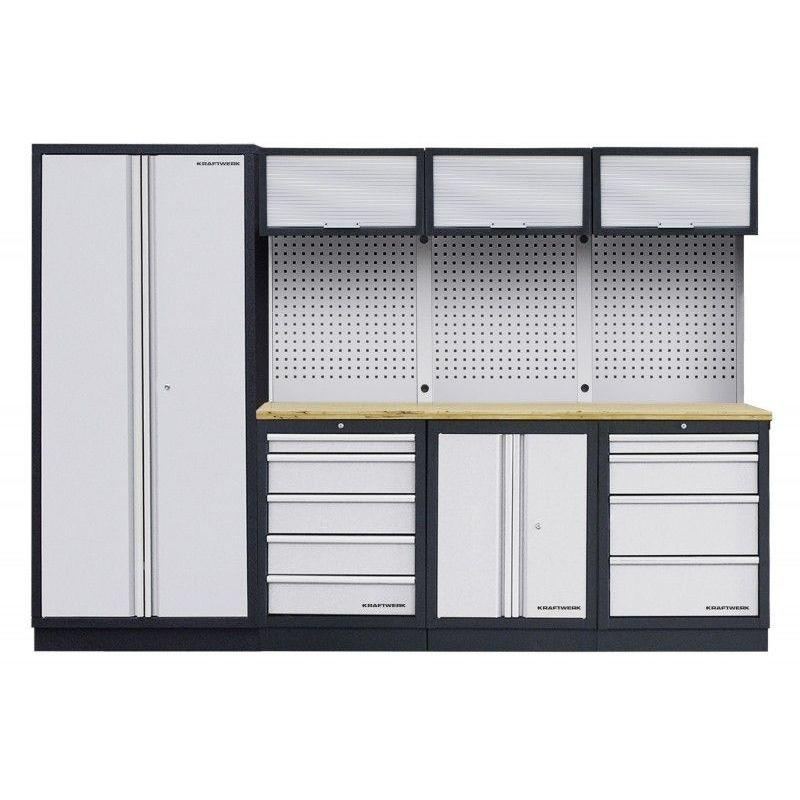 Mobilier d'atelier modulaire 4 éléments KRAFTWERK 2452.24