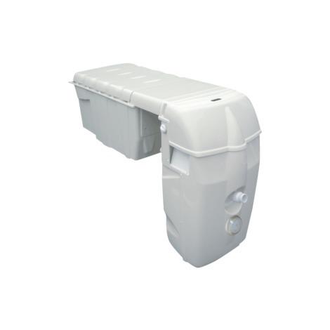 Mochila Filtrante Modelo MX 25 contracorrient y bypass - Cod. MX25CN0LVT LED B/B