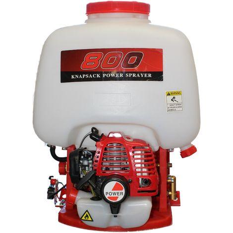 Mochila fumigadora con Motor a Gasolina, 2 Tiempos, 25L