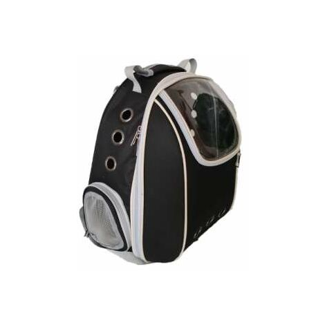 Mochila Negra Con Visor 33x23x40cm