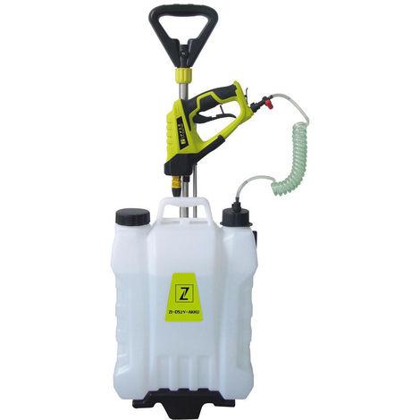 Mochila pulverizador con bateria ZIPPER ZI-DS2V-AKKU 15 litros fumigador