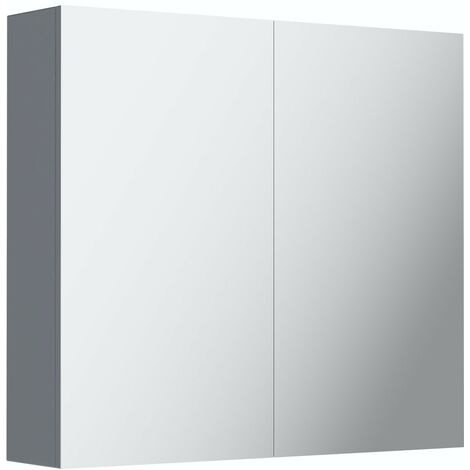 Mode Adler grey mirror cabinet