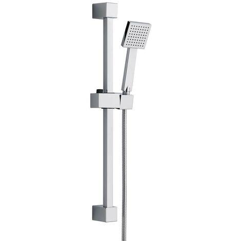 Mode Air round sliding shower rail kit