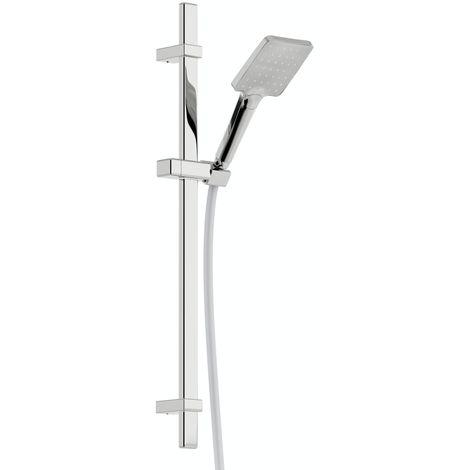 Mode Air square sliding shower rail kit