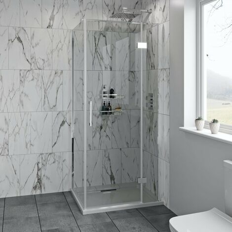 Mode Austin premium 8mm hinged easy clean shower enclosure 1200 x 760