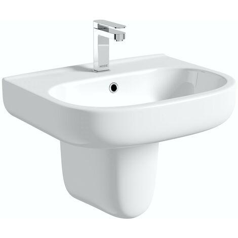 "main image of ""Mode Burton semi pedestal basin 550mm"""