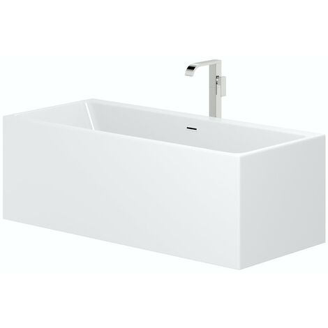 Mode Cooper freestanding bath & tap pack with Austin bath filler