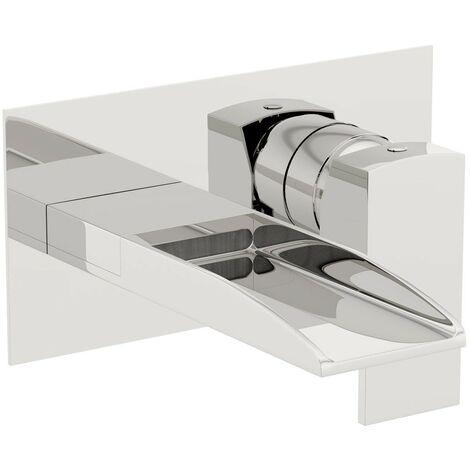Mode Cooper waterfall wall mounted bath mixer tap