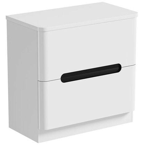Mode Ellis essen floorstanding vanity drawer unit and countertop 800mm