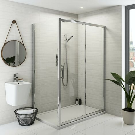 Mode Ellis premium 8mm easy clean shower enclosure 1600 x 700