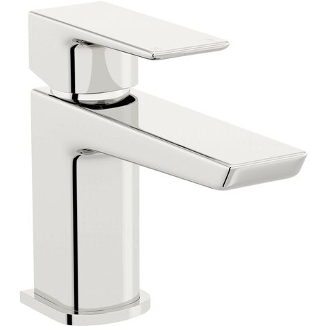 Mode Foster cloakroom basin mixer tap with waste