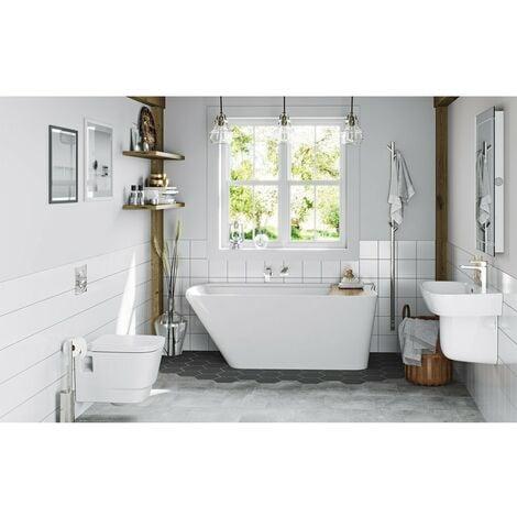 Mode Foster complete freestanding bath suite 1500 x 780