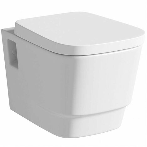 """main image of """"Mode Foster wall hung toilet with soft close seat"""""""