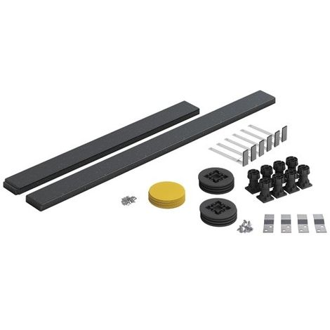 Mode Graphite Square/Rectangle Easy Plumb Kit (Up To 1200mm)
